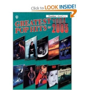 Alfred 00-IFM0506 Greatest Pop Hits of 2004-2005 - Music Book