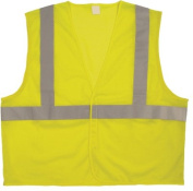 Anchor Anchor Brand - Bi-V260 Solid Class 2 Vests Cls 2 Ansi Solid W/0.6mGlass Bead Tape S/M