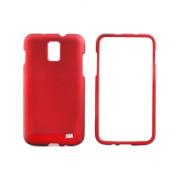 for Samsung i727 Skyrocket -AT & T- Red Case Cover - SAMI727RCRD