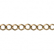 Cousin JBCHN-18011 Jewellery Basics Small Diamond Metal Chain, 180cm , Antique Gold