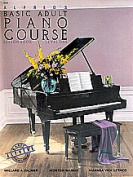 Alfred 00-2236 Basic Adult Piano Course- Lesson Book 1 - Music Book