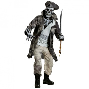 Ghost Pirate Adult Halloween Costume, Size
