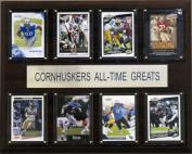C & I Collectables 1215ATGIOWA NCAA Football Iowa Hawkeyes All-Time Greats Plaque