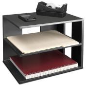 Victor Technology 1120-5 Midnight Black Corner Shelf