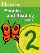 Alpha Omega Publications JPS021 Horizons Phonics Grade 2 - Student Book 1