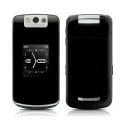 DecalGirl BBPF-SS-BLK BlackBerry Pearl Flip Skin - Solid State Black