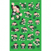 Trend Enterprises Inc. T-46325 Monkey Mischief Supershapes Stickers Large