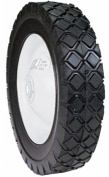 Maxpower Precision Parts 8in. x 1.75in. Steel Lawn Mower Wheel 335180