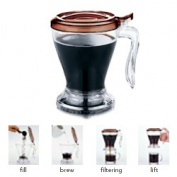 Timolino APC-50TBR 470ml Ingeni Coffee & Tea Maker Brown
