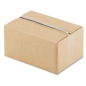 Corrugated Kraft Fixed-Depth Shipping Carton, 8w x 12l x 6h, Brown, 25/Bundle