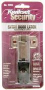 Kwikset Antique Brass Adjustable Entry Door Latch 81826-001