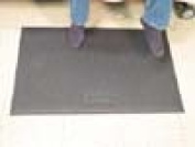 Smart Caregiver FM-07 Extra-Long Floor Mat for Standard or Wireless Monitor with 0.6cm Phone Plug 60cm x 120cm  - Grey