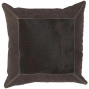 Surya PMH121-1818D 18 in. x 18 in. Down Filled Decorative Pillow - Espresso