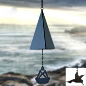 North Country Wind Bells Inc. 123.5006 Puget Sound Bell with cardinal wind catcher
