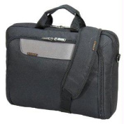 "Everki EKB407NCH17 Advance Briefcase 17.3"" Separate zippered accessory pocket Front stash pocket"