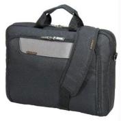 "Everki EKB407NCH17 Advance Briefcase 17.3"" Separate zippered accessory pocket Front stash pocket"