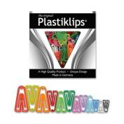 Baumgartens LP-3150 Plastiklip-Asst sizes & colours - Pack of 3