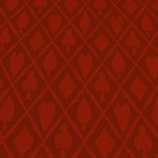 Brybelly Holdings GCLO-102 Red Suited Speed Cloth - Polyester 0.3m x 150cm