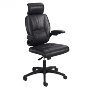 Safco Products Incite High Back Executive Chair, Black, 4470BL
