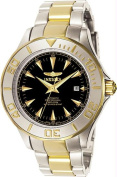 Men's Two Tone Stainless Steel Pro Diver Automatic Black Dial - Watch