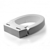 Mabis 641-2571-0005 Elongated Hinged Toilet Seat