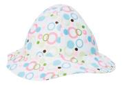 Trend Lab Beach Hat, Cupcake Bubbles, 6 Months