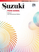 Alfred 00-30030 Suzuki Piano School New International Edition Piano Book and CD- Volume 1 - Music Book