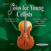 Alfred 00-21700X Solos for Young Cellists CD- Volume 2 - Music Book