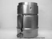 Chimney 77111 B-Vent Adaptor For Flexi-Liner - 4 Inch