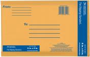 Lepages Inc 15cm . x 23cm . Kraft Manila USPS Padded Mailers 83011