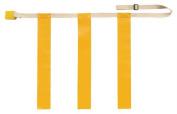 Olympia Sports FB630P Triple Threat Flag Football Belt - Medium - Yellow