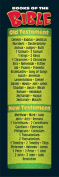 TREND ENTERPRISES INC. T-12713 BOOKS OF THE BIBLE BOOKMARKS