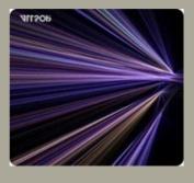 AllSop 30600 Mouse Pad Tech - Purple Stripes