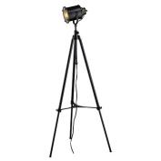 Dimond D1735 Ethan Adjustable Tripod Floor Lamp in Restoration Black