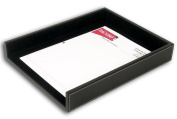 Dacasso A1201 Rustic Leather Front-Load Letter Tray