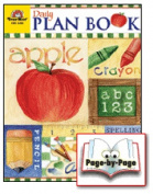 EVAN-MOOR EMC5400 Teacher Plan Book Evan-Moor Planners