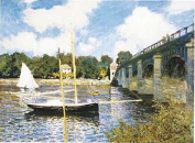 Hot Stuff 2033-16x20-GC The Highway Bridge At Argenteuil Poster
