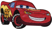Wrights 451055 Disney Cars Iron On Applique-McQueen 14cm . x 7.6cm . 1-Pkg