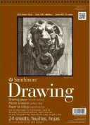 Strathmore ST400-107 36cm . x 43cm . Smooth Surface 400 Series Wire Bound Drawing Paper - 24 Sheets