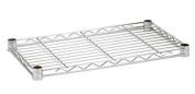 Honey-Can-Do SHF350C2448 Steel Shelf-350Lb Chrome 24X48