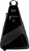 Pzazz Performance Wear SL50 -BLK -L SL50 Megaphone Sling Pack - Black - Large