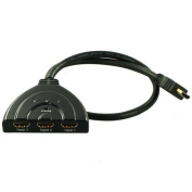 CMPLE 114-N HDMI 3 Ports Pigtail Switch- 3X1
