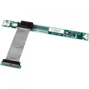 PCI Express Riser Card x1 Left Slot Adapter 1U with Flexible Cable