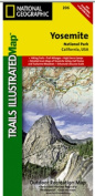 National Geographic TI00000206 Map Of Yosemite National Park - California