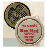 Hunters Specialties H.S. Scents Primetime BucRut Whitetail Scent Wafers