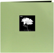 Pioneer MB88CB-F/SG Book Cloth Cover Postbound Album With Window 20cm x 20cm