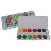 Royal Talens C959-30012 Talens Transparent Gouache 12-Colour Set
