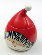 IWGAC 049-92106 Wild About Santa Goody Jar