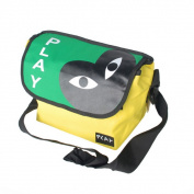 Blancho Bedding MB-SM848-YELLOW Play More Fun - Yellow Multi-Purposes Messenger Bag / Shoulder Bag