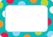 Creative Teaching Press CTP4516 Dots On Turquoise Name Tags